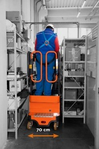 Nacelle 5 mètres manuelle - Devis sur Techni-Contact.com - 5