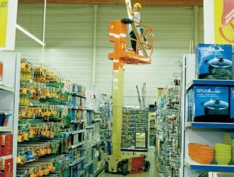 Nacelle automotrice à mât vertical - Devis sur Techni-Contact.com - 2