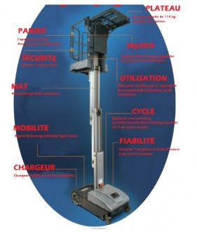 Nacelle automotrice Picking - Devis sur Techni-Contact.com - 2