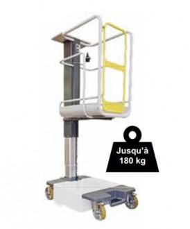 Nacelle élévatrice électrique 180 kg - Devis sur Techni-Contact.com - 1