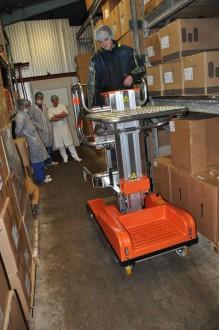 Nacelle élévatrice électrique 200 Kg - Devis sur Techni-Contact.com - 3