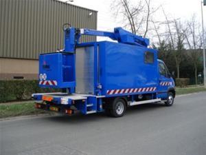 Nacelle élévatrice sur châssis 17 m - Devis sur Techni-Contact.com - 1