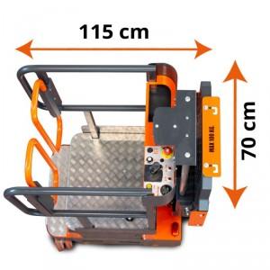 Nacelle élvatrice 5 mètres ultra compacte - Devis sur Techni-Contact.com - 4