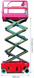 Nacelle motorisée 8000mm - Devis sur Techni-Contact.com - 2