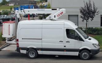 Nacelle sur fourgon 17 mètres - Devis sur Techni-Contact.com - 1