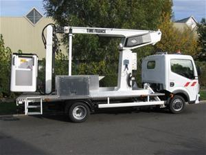 Nacelle sur véhicule 3T5 (VL) Hauteur 13.40m - Devis sur Techni-Contact.com - 1