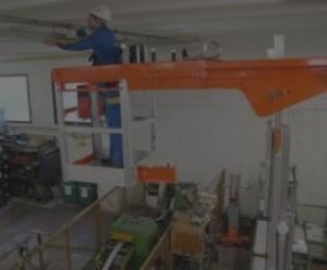 Nacelle verticale 8m déport 3m - Devis sur Techni-Contact.com - 1