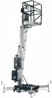 Nacelle verticale à poussée manuelle - Devis sur Techni-Contact.com - 1