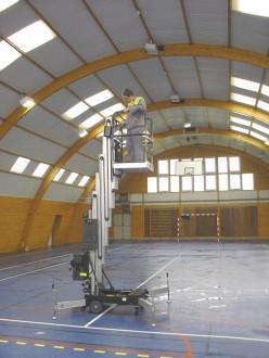 Nacelle verticale à poussée manuelle - Devis sur Techni-Contact.com - 3