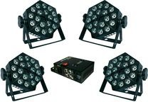 Nicols pack 4 panneaux Power Pack Led - Devis sur Techni-Contact.com - 1