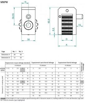 Numéroteur automatique et manuel pour le marquage - Devis sur Techni-Contact.com - 8