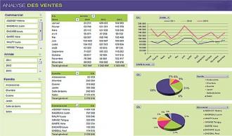 Outil de reporting Excel - Devis sur Techni-Contact.com - 1