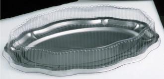 Pack 10 Plats ovales 'Louis XV' - Devis sur Techni-Contact.com - 1