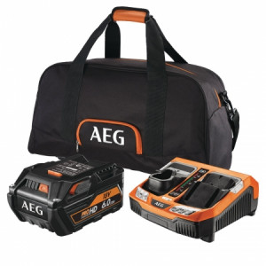 Pack batterie 6 Ah lithium 18 V AEG - Devis sur Techni-Contact.com - 1