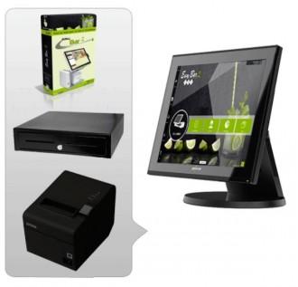 Pack caisse enregistreuse premium café restaurant - Devis sur Techni-Contact.com - 1