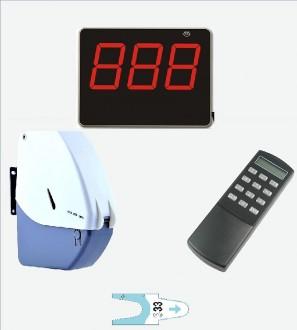 Pack gestion d'attente avec distributeurs de tickets - Devis sur Techni-Contact.com - 1