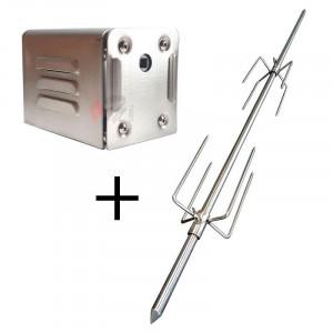 Pack broche moteur pour méchoui 40 Kg - Devis sur Techni-Contact.com - 1