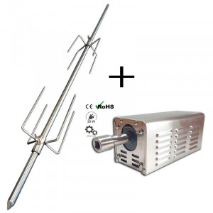 Pack méchoui broche et moteur 90 Kg - Devis sur Techni-Contact.com - 1