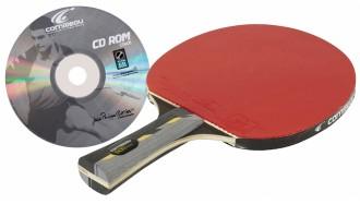 Pack raquette ping pong avec CD d'apprentissage - Devis sur Techni-Contact.com - 1