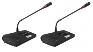 Pack système de conférence récepteur/micros/chargeur de batterie - Devis sur Techni-Contact.com - 2