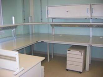 Paillasse de laboratoire avec plateaux stratifiés - Devis sur Techni-Contact.com - 1