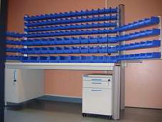 Paillasse de laboratoire poste cueillette - Devis sur Techni-Contact.com - 1