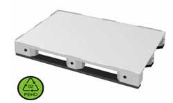 Palette Polyéthylène alimentaire pleine poids 13,9 kg - Devis sur Techni-Contact.com - 1