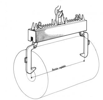 Palonnier pour bobines - Devis sur Techni-Contact.com - 1