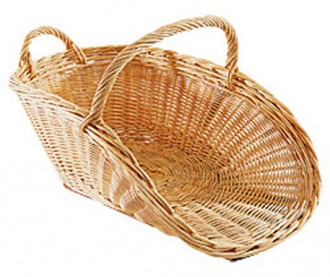 Panier à bois crocane ouvert - Devis sur Techni-Contact.com - 1
