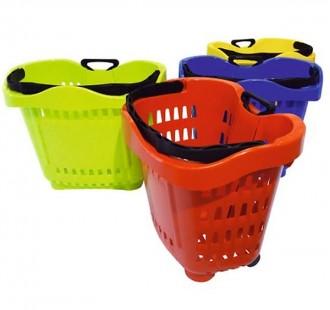 Panier à roulettes 43 litres - Devis sur Techni-Contact.com - 1