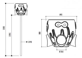 Panier de ballon - Devis sur Techni-Contact.com - 2