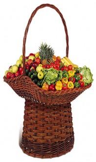 Panier pour fruits en osier - Devis sur Techni-Contact.com - 1