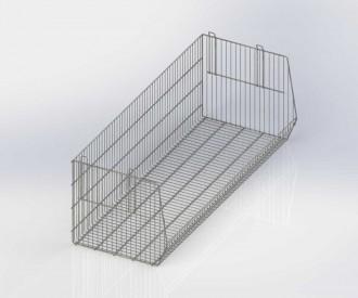 Paniers étagères pour gondole - Devis sur Techni-Contact.com - 1