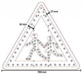 Panneau A13B - Devis sur Techni-Contact.com - 2