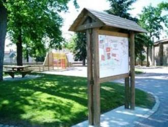 Panneau affichage bois 2x1 mètre - Devis sur Techni-Contact.com - 1