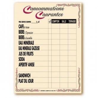 Panneau affichage des prix de consommations - Devis sur Techni-Contact.com - 2