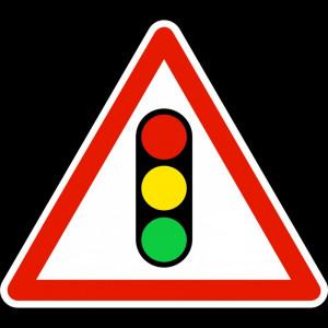 Panneau annonce de feux tricolores - Devis sur Techni-Contact.com - 1