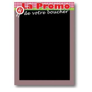 Panneau ardoisé de promotion boucherie - Devis sur Techni-Contact.com - 1