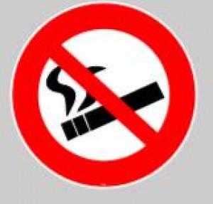 Panneau au sol adhésif interdiction de fumer - Devis sur Techni-Contact.com - 1