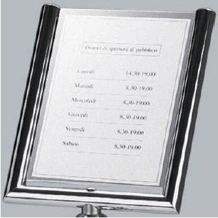 Panneau d'affichage A4 sur pied - Devis sur Techni-Contact.com - 1