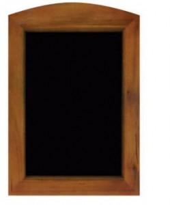 Panneau d'affichage avec cadre bois exotique - Devis sur Techni-Contact.com - 1