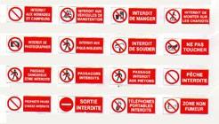 Panneau d'affichage d'interdiction - Devis sur Techni-Contact.com - 1