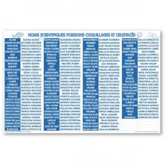 Panneau d'affichage équivalence poissonnerie - Devis sur Techni-Contact.com - 1
