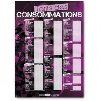 Panneau d'affichage prix consommations - Devis sur Techni-Contact.com - 1