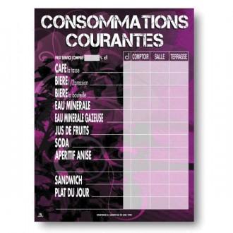Panneau d'affichage prix consommations - Devis sur Techni-Contact.com - 2