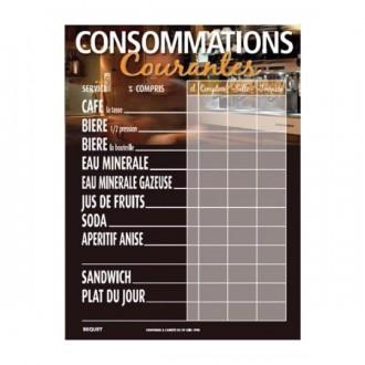 Panneau d'affichage prix de consommation - Devis sur Techni-Contact.com - 1