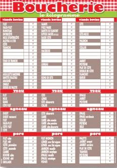 Panneau d'affichage prix viande - Devis sur Techni-Contact.com - 3