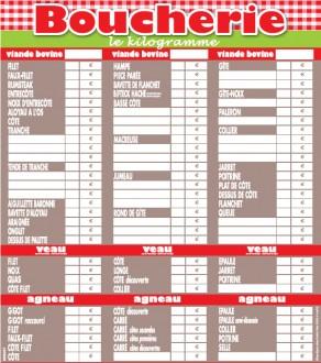 Panneau d'affichage prix viande - Devis sur Techni-Contact.com - 4