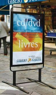 Panneau d'affichage sur ressorts pour commerce - Devis sur Techni-Contact.com - 1