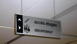Panneau d'affichage suspendu - Devis sur Techni-Contact.com - 2